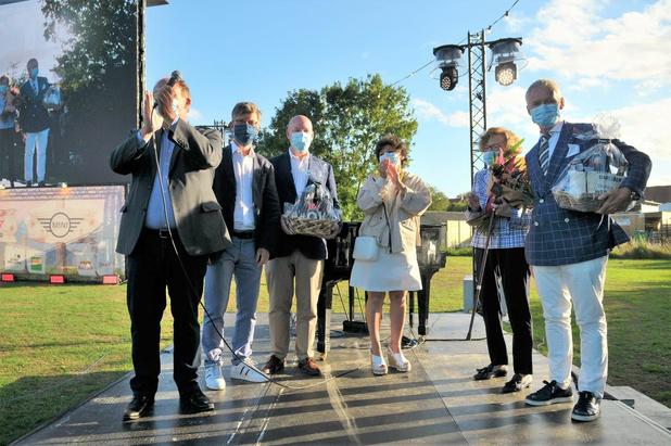 Harelbeke zet familie Bert in de bloemetjes tijdens Kinepolis on Tour