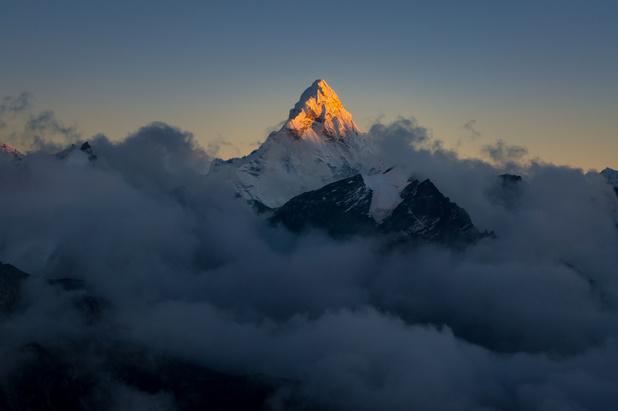 Hoogte van Mount Everest vastgelegd op precies 8.848,86 meter