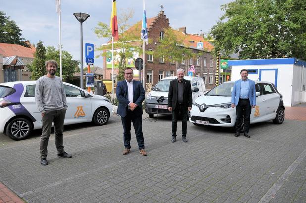 Twee elektrische deelauto's voor Stasegem en één voor Zwevegem