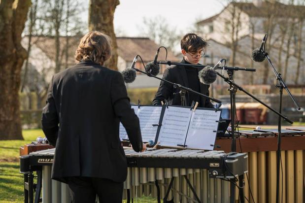 Klarafestival strijkt neer in tuin van twee Brusselse woonzorgcentra