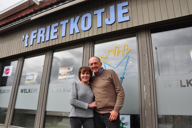 """Christian en Marie-Christine zeggen hun 'Frietkotje' vaarwel: """"Thuis was Tine baas, hier nam ik het voortouw"""""""