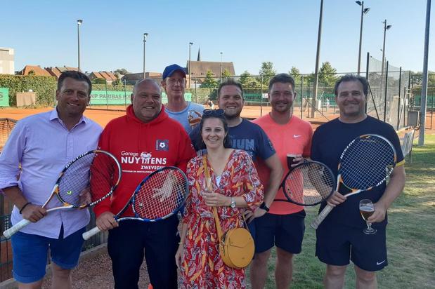 Tennisclub TC Gaverkasteel Deerlijk schittert in tornooi van Zwevegem