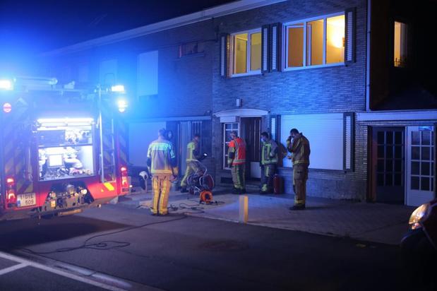 Brandje in woonkamer snel geblust