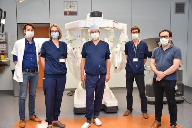 Operatierobot Jan Yperman biedt grote voordelen voor patiënt