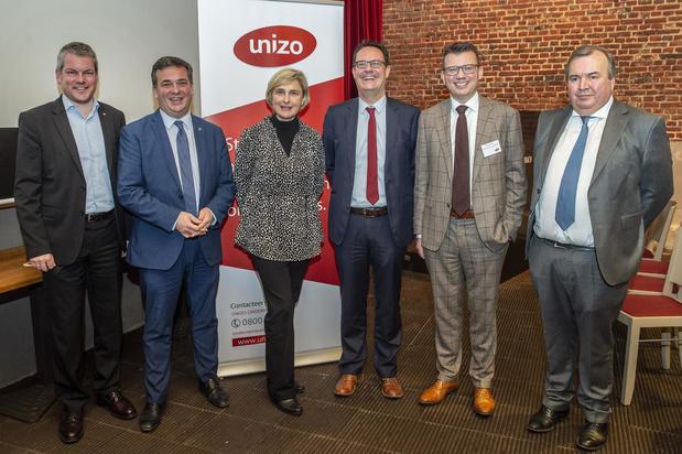 Minister Crevits duidt op belang van kmo-weefsel tijdens nieuwjaarsreceptie Unizo West-Vlaanderen