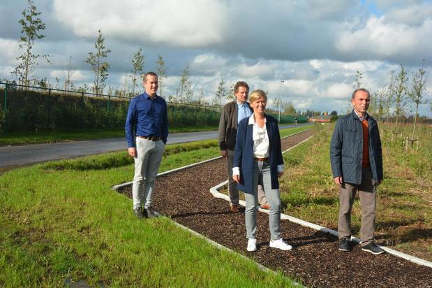 Agristo schenkt Finse piste aan gemeente Wielsbeke