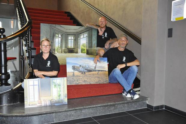 Bewonder urban fotografie in gemeentehuis van Oostkamp