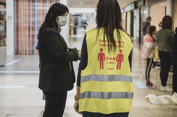 """West-Vlaamse winkelcentra opgelucht: """"Mondmaskers verplichten zorgt voor veiligheid"""""""