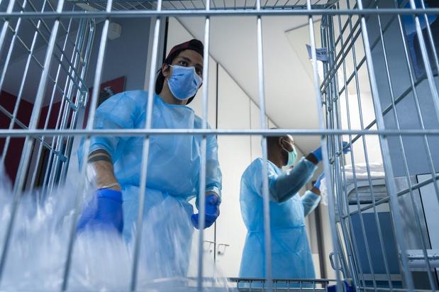 Le nombre moyen d'infections poursuit sa hausse avec près de 550 par jour