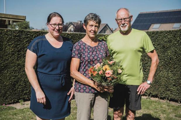 """Een bloemetje voor Christiane: """"Zo toch nog 70ste verjaardag kunnen vieren"""""""