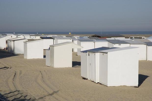 Strandcabines in Zeebrugge mogen vanaf 29 mei op afspraak opgebouwd worden
