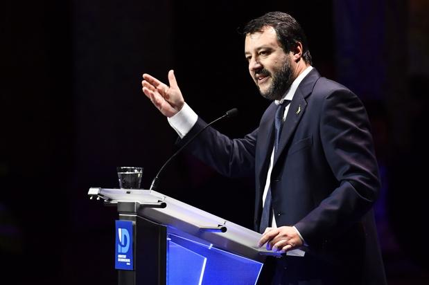 Boek met blanco pagina's over oppositieleider Salvini bestseller in Italië