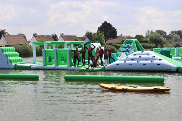 Extra openingsdagen in nieuwe waterparkattractie voor hittegolf