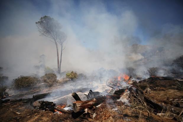 Brand op de Tafelberg in Kaapstad: verschillende historische gebouwen verwoest
