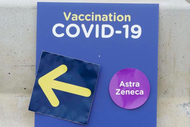 La Wallonie n'injecte plus de première dose d'AstraZeneca