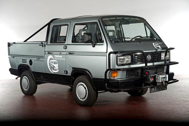 Flashback: Volkswagen Transporter T3 Syncro uit 1985