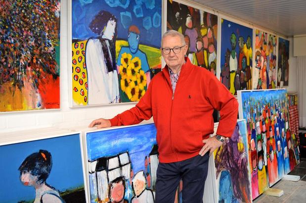 Ieperse kunstschilder Willy De Bever op 83-jarige leeftijd overleden
