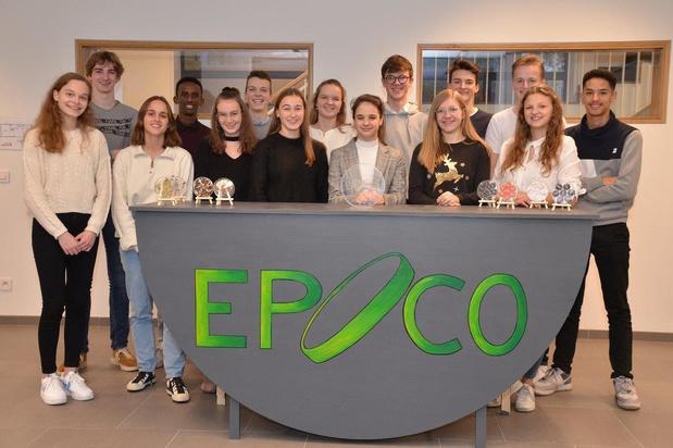 Mini-onderneming Epoco uit Kuurne stoot door naar Vlaamse finale