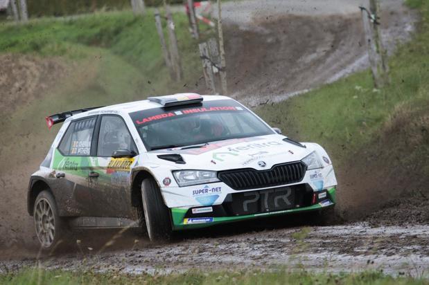 Cédric Cherain wint Rally van de Monteberg