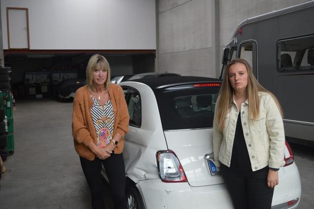 Wie reed Fiatje van Sarah (20) uit Brugge tot schroot?