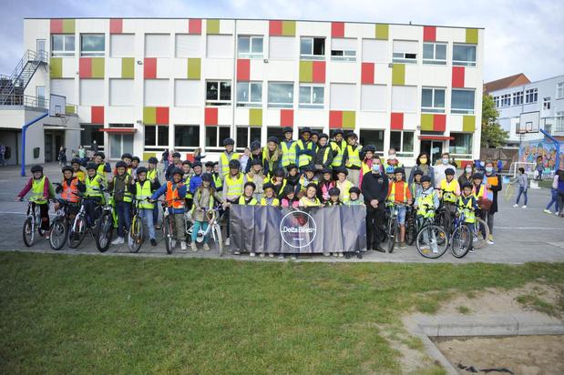 Sint-Pietersschool zet sterk in op fietsveiligheid