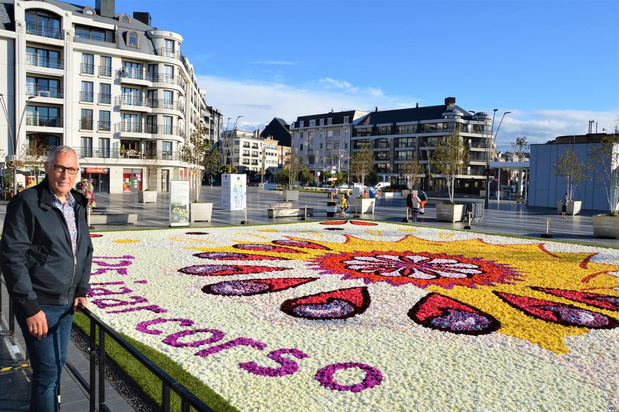 Blankenberge sluit zomer af met drie bloementapijten van 240.000 begonia's en dahlia's
