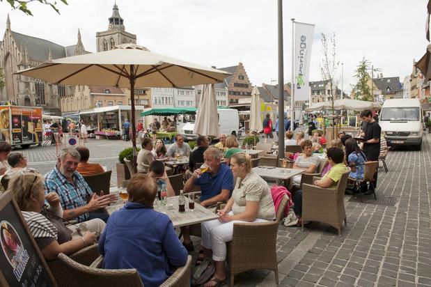 Geen terrasbelasting in Poperinge naar aanleiding van het coronavirus