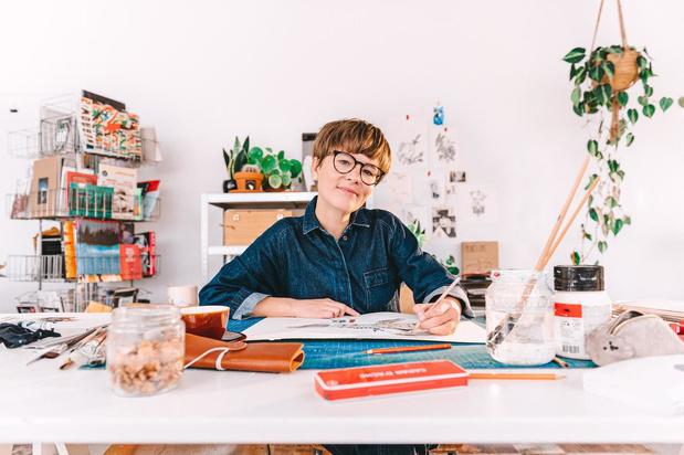 Kortrijkse Penelope Deltour maakt als illustratrice haar debuut in Iedereen Beroemd