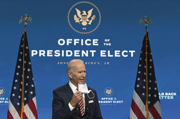 États-Unis: Joe Biden plante ses jalons