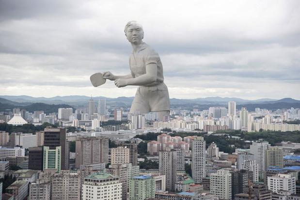 Corée du Nord: un vrai mensonge (en images)
