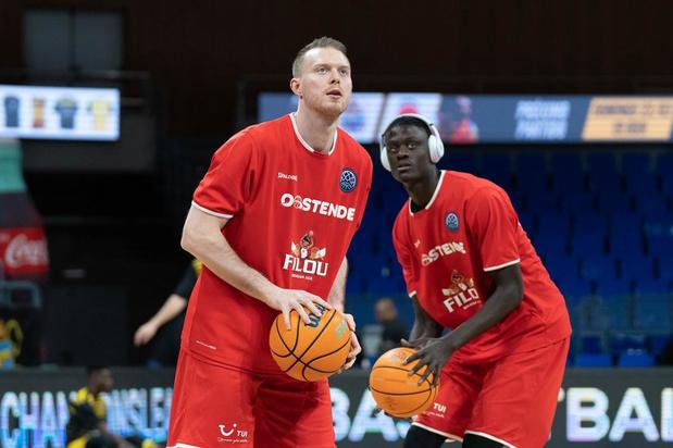 Filou Oostende haalt het met twee punten tegen Saint-Quentin