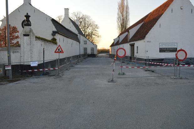 Opening heraangelegde Dammesteenweg opnieuw uitgesteld
