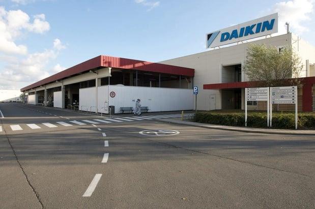 Twee werknemers besmet met corona bij Daikin Europe in Oostende