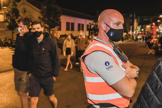 Rustige nacht in Gentse Overpoort na invoeren maximumcapaciteit