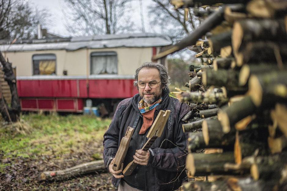 Daniel Hélin, l'homme des bois
