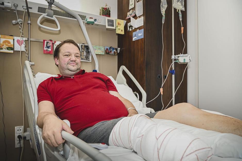 Heulse oppervrijwilliger Nic Cattebeke (45) verliest onderbeen na bacteriële infectie