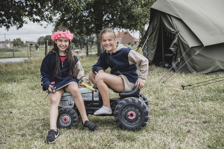 """Onze boeren redden het zomerkamp: """"Op kamp bij de boer, dat is het mooiste wat er is"""""""