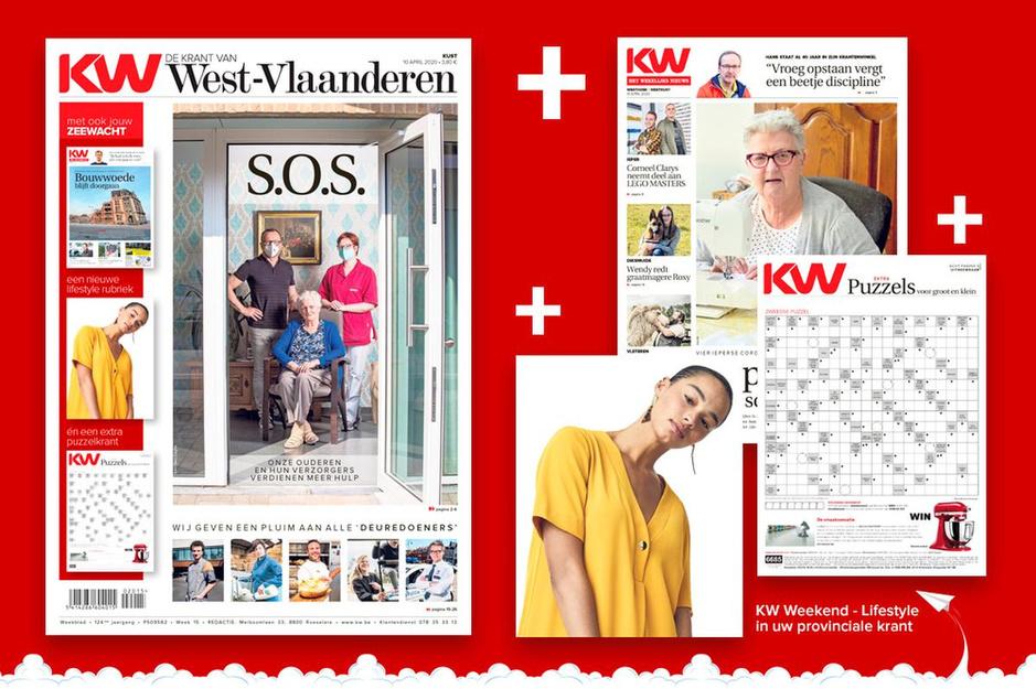 Een ode aan de deuredoeners: KW pakt uit met een krant over de vele harde werkers