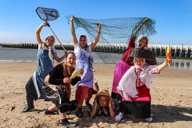 De 'Ostendse Viswuvn' gaan voluit voor de overwinning in wedstrijd van Bar Abbay