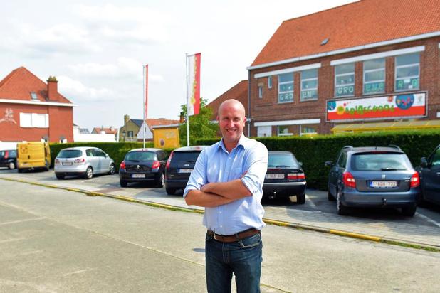 Directeur Veerle en directeur Ruben van Mariaschool Harelbeke in quarantaine