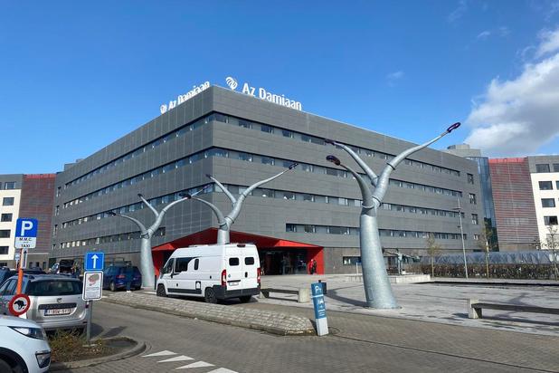 AZ Damiaan in Oostende heeft 9 coronapatiënten opgenomen