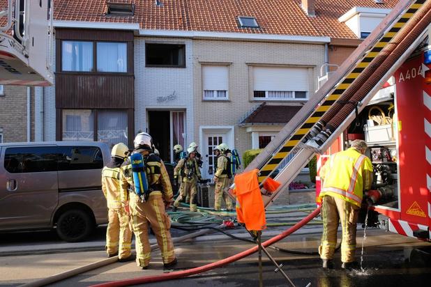 Snelle interventie van brandweer voorkomt uitbreiding van brand