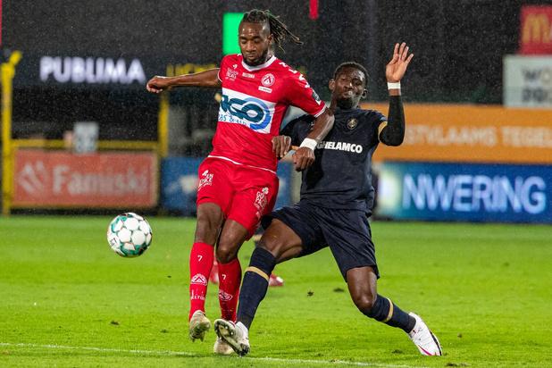 KV Kortrijk ondanks vroege goal onderuit tegen Antwerp