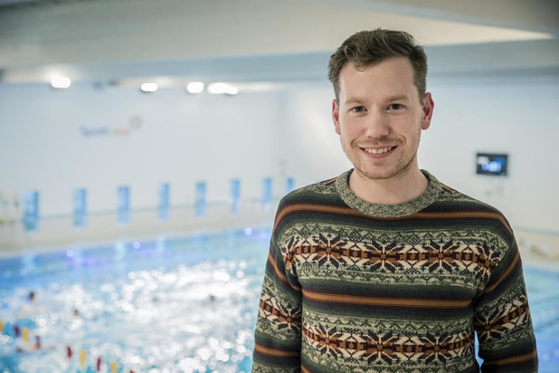 Wedstrijd afgelast door Coronavirus: zwemmer Jan Berteloot vliegt even over en weer naar Italië