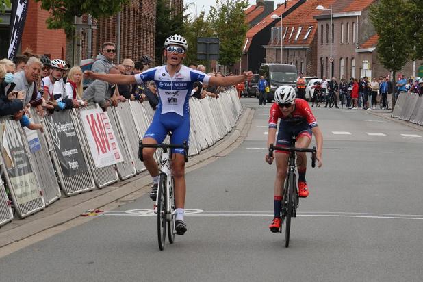 Winst voor Seppe De Vos bij eerstejaarsnieuwelingen in Dikkebus