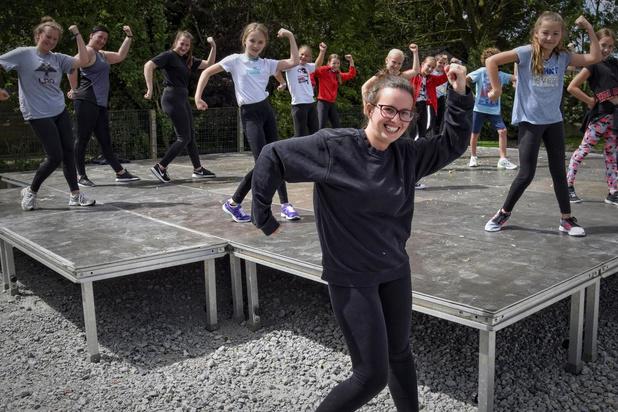Dansschool MarieFlo trekt naar buiten