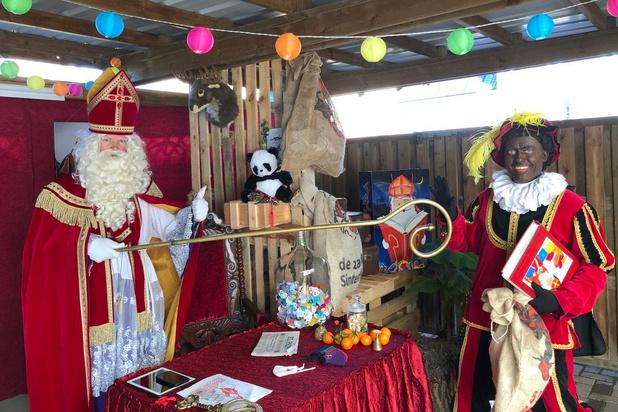 Sinterklaas in Oostkampse filmstudio