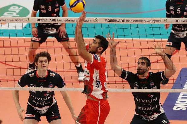 Knack Volley wint met 3-2 van Maaseik