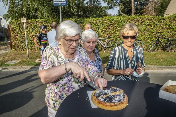 Wielrenner Jean-Pierre Monseré herdacht met taart