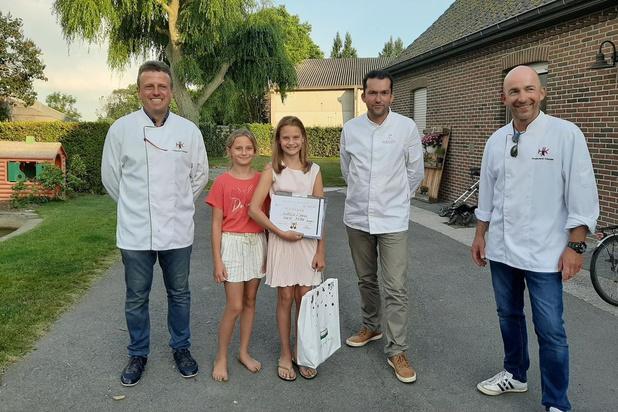 Chefs Koksijdse hotelschool 'on tour' bij hun leerlingen